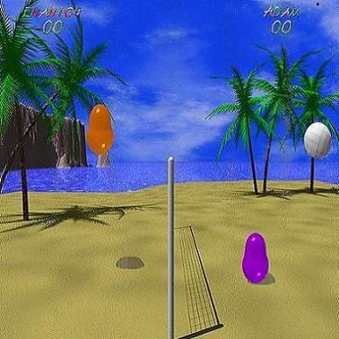blobby volley игра